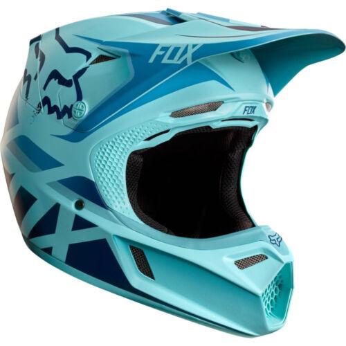 Reithelme Fox V3 Seca Le Roczen Motocross Mx Helm Reithelme & -schutzkleidung Eisblau Enduro Motorrad MTB Bmx Mips