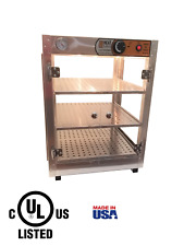 Commercial Food Warmer Heatmax 18x18x24 Pizza Pastry Concession Display Case