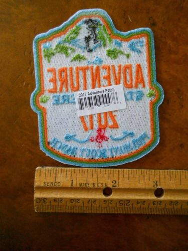 NEW WITH TAGS PHILMONT ADVENTURE STARTS HERE 2017 PATCH