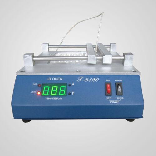 800W T-8120 Preheating Oven Infrared Preheating Station Infrared BGA 220V//110V