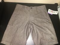 Men's Da Hui Hybrid Stretch Lightweight Shorts/board Shorts With Tags