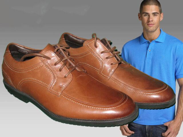 Rockport Men's DRSP MOC Front Lace up Shoes Featuring Adidas Adiprene UK 7.5