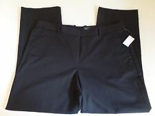 NWT GAP 36 x 27 Womens Size 14 Regular Tailored Cropped Black Capri Dress Pants