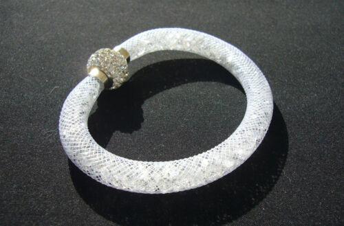 Bracelet STARDUST Poussière d/'étoile  fermoir Boule Strass