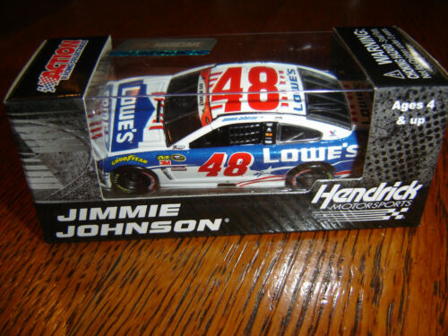 2016 Jimmie Johnson #48 Lowes Salut Chevy 1:64 Aktion