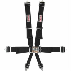 G-Force Racing Gear 6001BK Pro-Series Latch & Link 6-Point ...