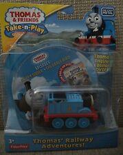 THOMAS & FRIENDS TAKE N PLAY THOMAS RAILWAY ADVENTURES - ENGINE & BONUS DVD *NU*