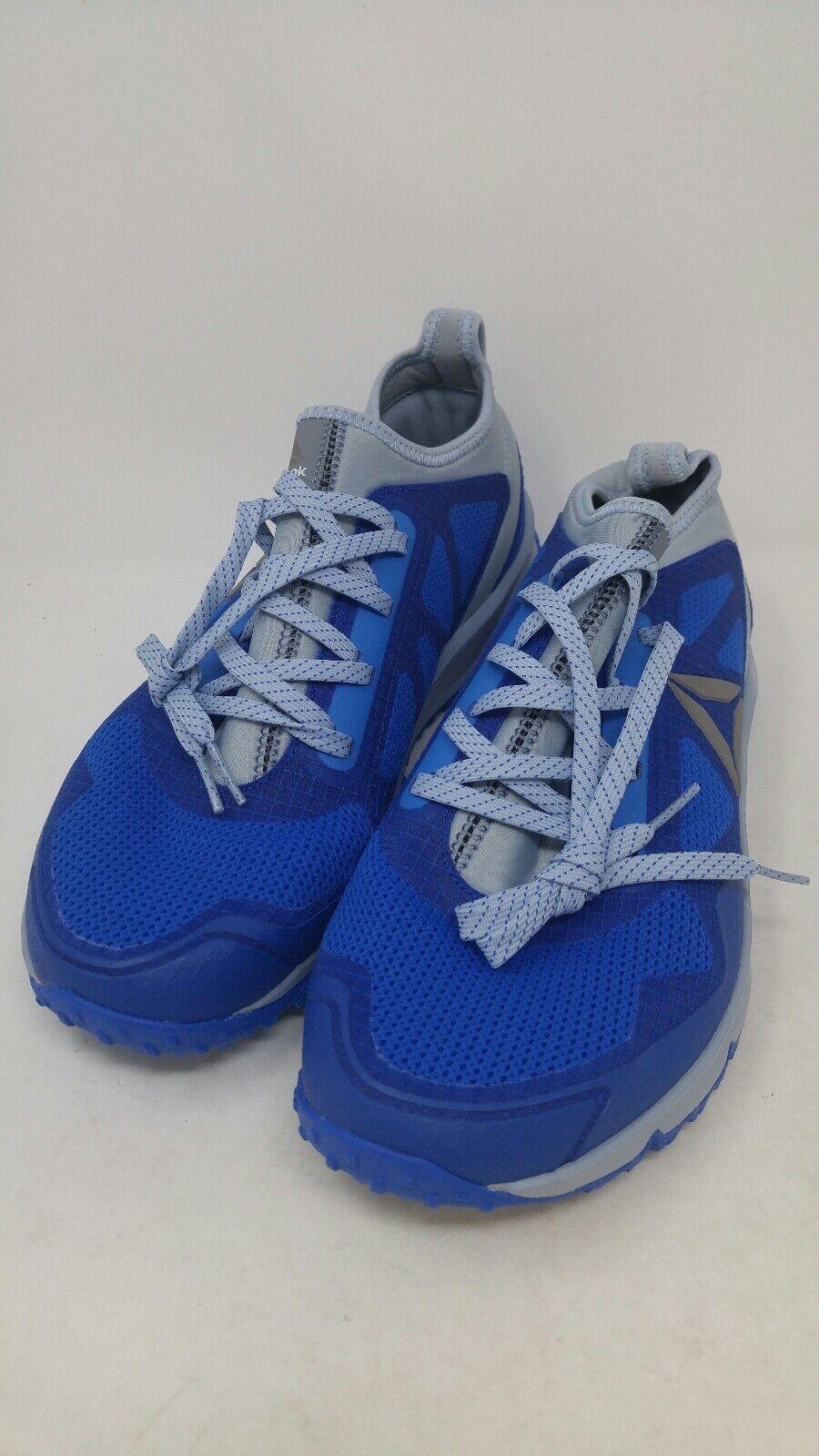 Reebok Men's  all terrain freedom trail runner bluee grey Size 7.5  in stock