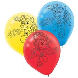 PAW-PATROL-Boys-Latex-Birthday-Party-Balloons-x-6