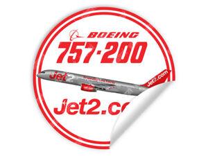 JET2-JET-2-BOEING-B757-B-757-ROUND-DECAL-STICKER-3-5-x-3-5-in-9-x-9-cm