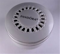 Pandora Porcelain Jewelry Box White/silver Limited Edition Holds Bracelet