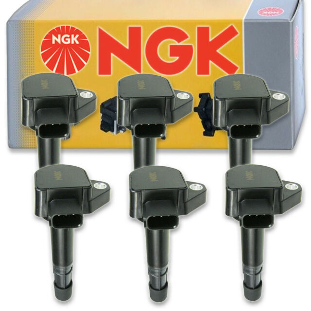 6 Pcs NGK Ignition Coil For 2009-2014 Acura TL 3.5L 3.7L