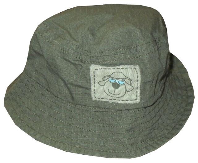 NEW KIDS BOYS KOALA BABY COOL PUPPY MILITARY BEACH SUN BUCKET HAT CAP BABY 3-9 M