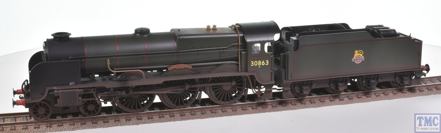 R3635 Hornby OO Gauge BR Lord Nelson 30863 Lord Rodney Coal & Weatherot