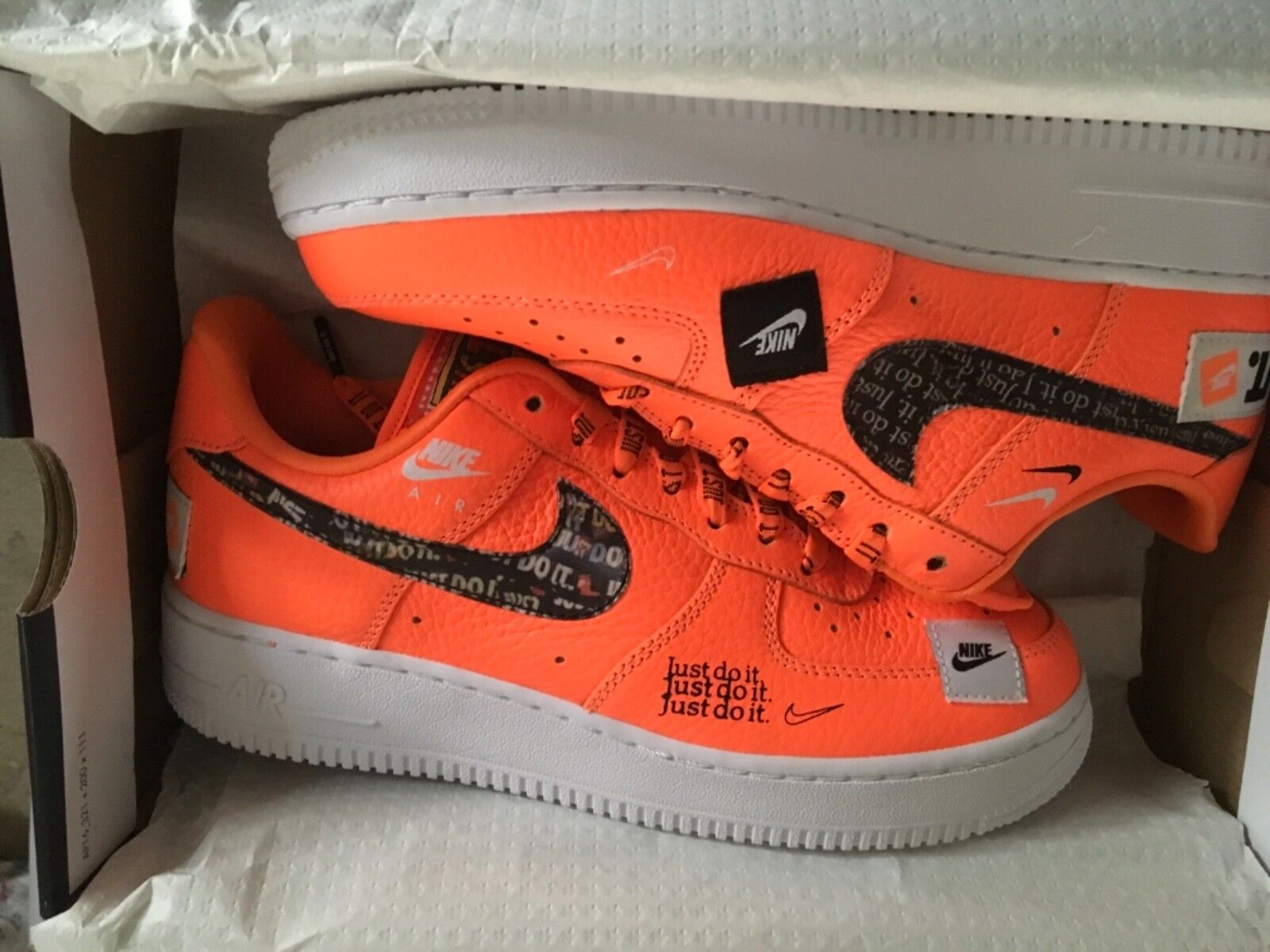 Nike Air Force One 1 '07 Premium PRM Low JDI Just Do It Total Orange Comfortable Cheap women's shoes women's shoes