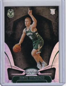 Donte-DiVincenzo-2018-19-Certified-RC-Rookie-Silver-Mirror-167