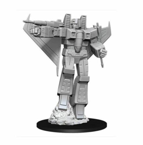 Transformers Deep Cuts Unpainted Miniatures Starscream New
