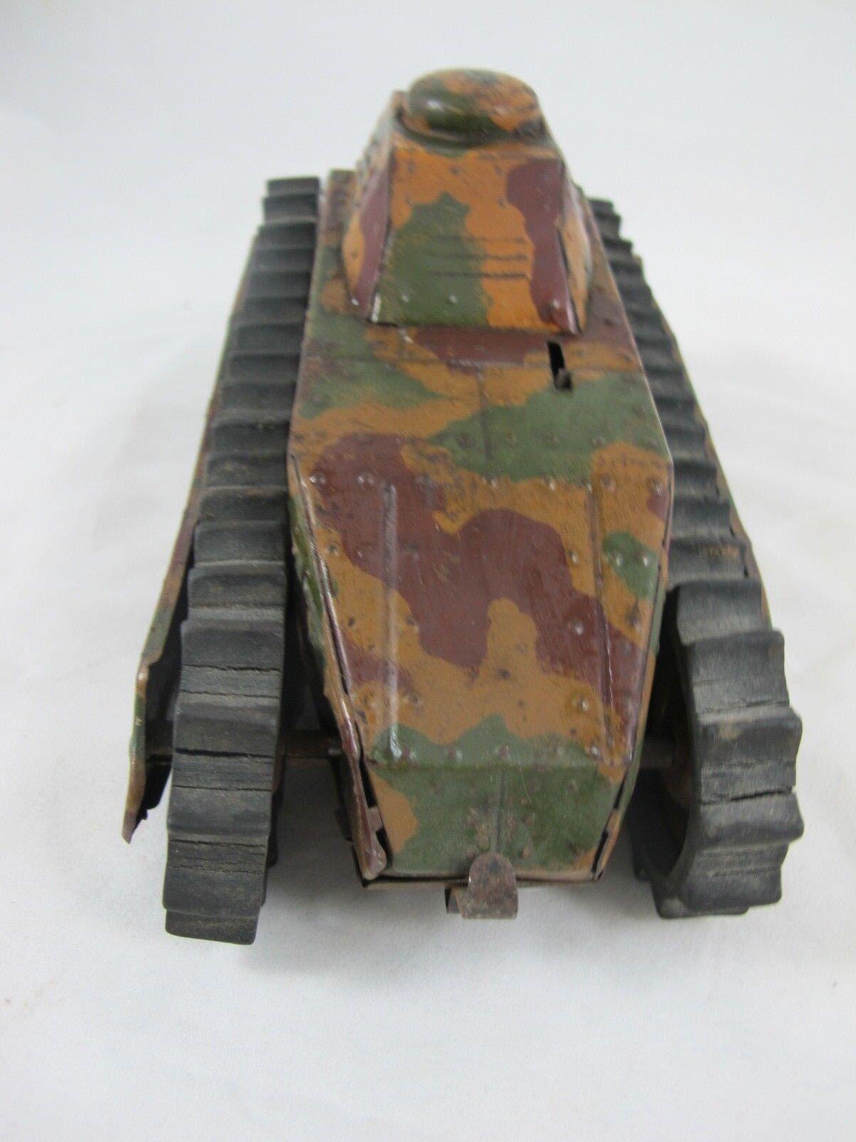 GERMAN TINPLATE WINDUP WW1 WW1 WW1 TANK C1915 293b44