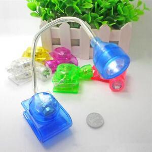LAMPADA-CLIP-LED-LETTURA-LUCE-LIBRI-NOTTURNA-BATTERIE-LED-TORCIA-PORTATILE