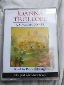 2-cassettes-AUDIO-BOOK-A-SPANISH-LOVER-Joanna-Trollope-read-by-Patricia-Hodge