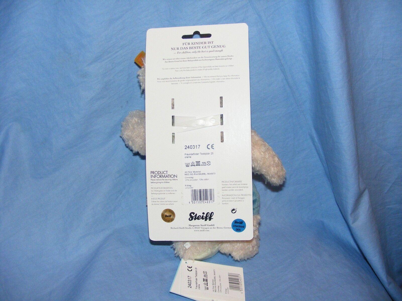 Steiff Teddy Bear Friend Finder Finder Finder New Baby Birthday Christening Gift 240317 a89aa1