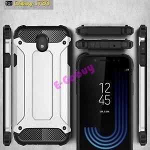 Pour-Samsung-Galaxy-J3-J5-J7-Pro-2017-Etui-Antichoc-Protection-Armure-Rigide