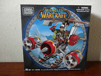 Mega Bloks World of Warcraft Flying Machine and Flint - 91018U Toys