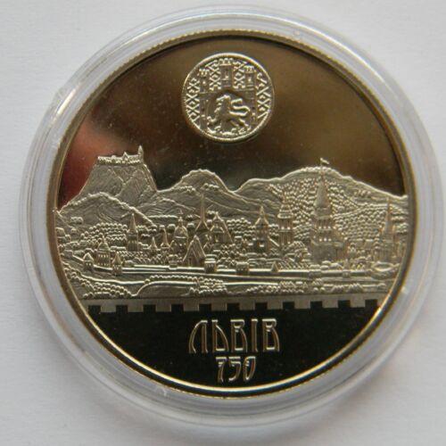 LVIV CITY Ukraine 2006 Coin 750th Anniversary of Ancient Lemberg Lwow 5 Hryvnia