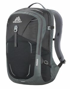 2f51191bd930 Details about Gregory Mountain Products Anode Men's Daypack Shadow Black  One Size