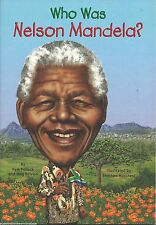 WHO WAS NELSON MANDELA Kids BOOK History NEW Biography SOUTH AFRICA Mandella