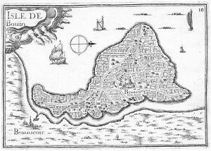 Antique-map-Isle-de-Bouin