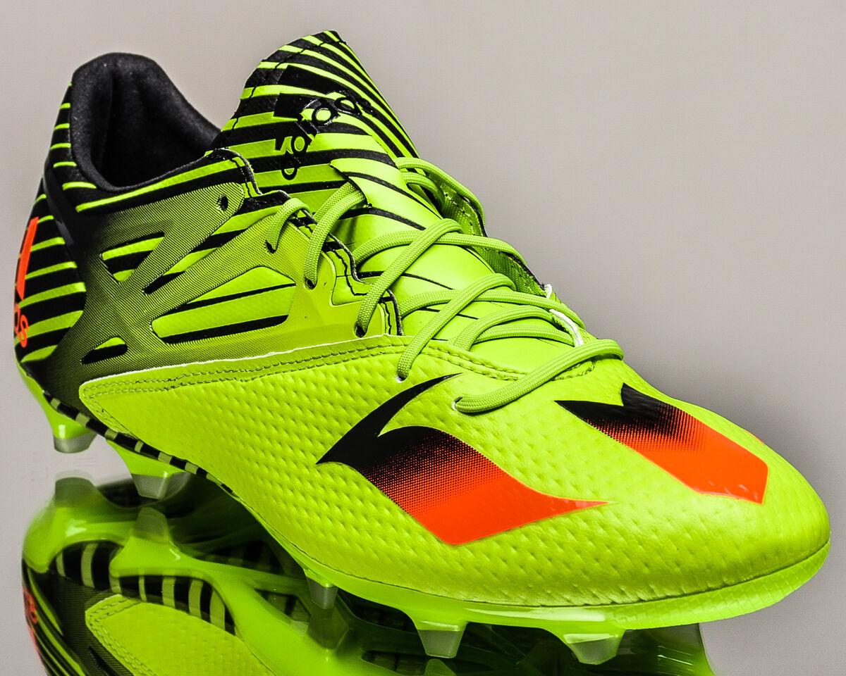 Adidas Messi 15.2 FG AG hommes chaussures de foot Galeries NEUF vert clair Crimson