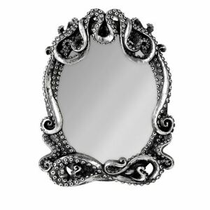 Alchemy-Gothic-Kraken-Tentacles-Resin-Wall-Mirror-Lovecraft-Octopus-Nautical