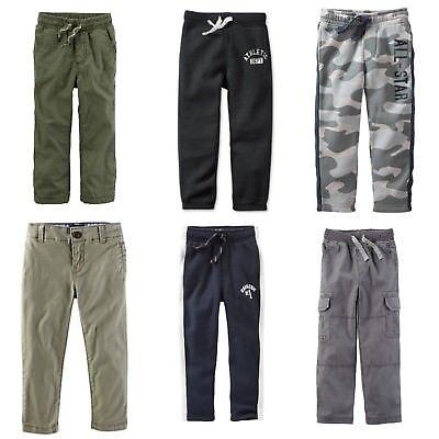 OshKosh BGosh Boys 2T-8 Slouch Straight Pants Green 5