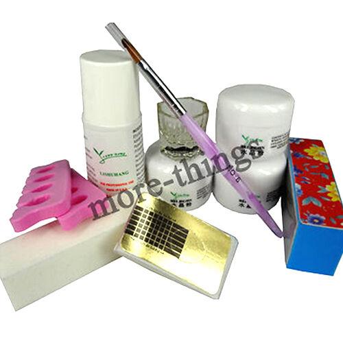 new full nail art tool set acrylic UV Gel F172