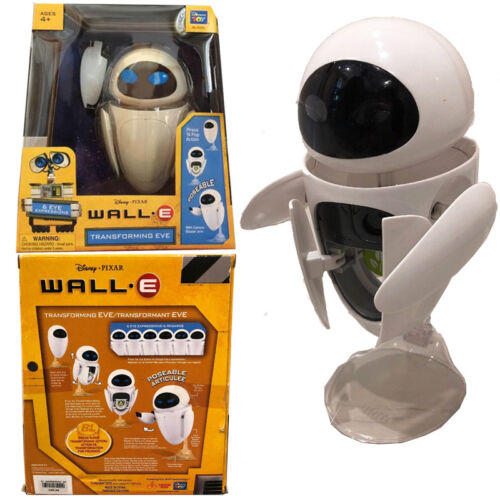 Disney Transforming Wall E Eee-Vah Eve Action Figures Doll Kids Play Toy Gift