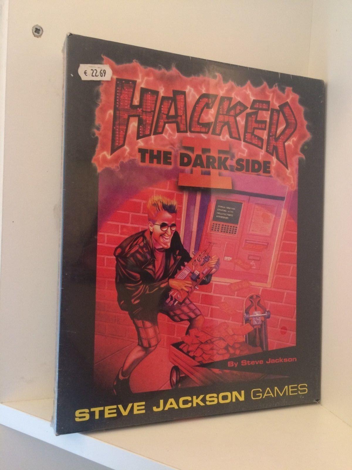 Hacker II Dark Side Expansion Set för Hacker spel, Steve Jackson