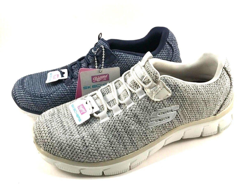 Skechers 12817 Air Cooled Memory Foam Slip On Sneakers Choose Sz color