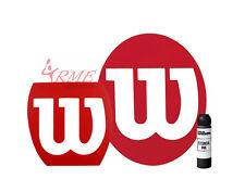 Wilson Tennis, Squash, Badminton Stencil and Wilson Black Stencil Ink Pack