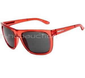Arnette-AN-4143-01-FIRE-DRILL-Transparent-Red-Frame-Grey-Lens-Mens-Sunglasses