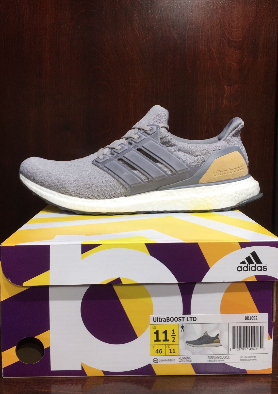 Adidas ultraboost pelle ltd