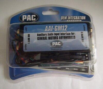 Pac AAI-GM12 Pontiac 2003-2005 Grand Am Dual Aux Audio Input Kit Factory Radio