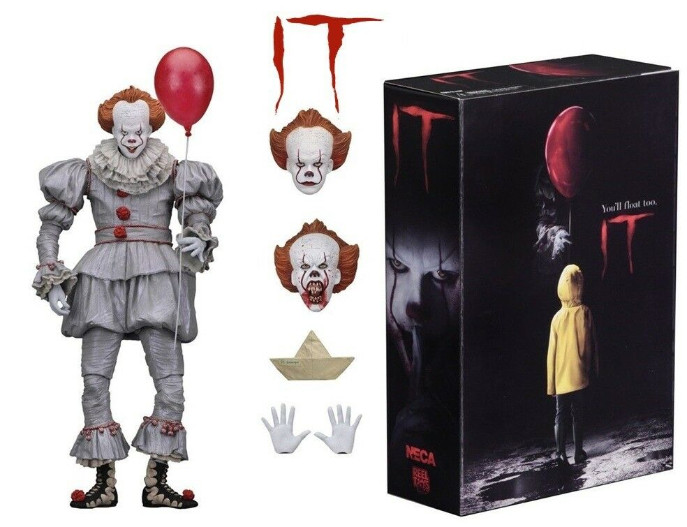 Action Figure NECA IT Pennywise Figure 18cm IT Clown Model Collectible