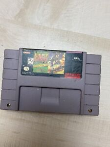 Jungle Strike: Sequel to Desert Strike Super Nintendo Game SNES Tested + Working