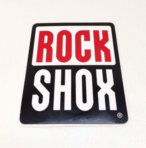 "**RETRO MOUNTAIN BIKE GENUINE /""ROCKSHOX/"" FORK DECAL NOS**"