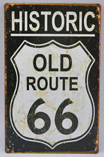 """BRAND OLD 8X12"""" ROUTE 66 Painting Tin Sign Wall Home Bar Decoration TP356"""