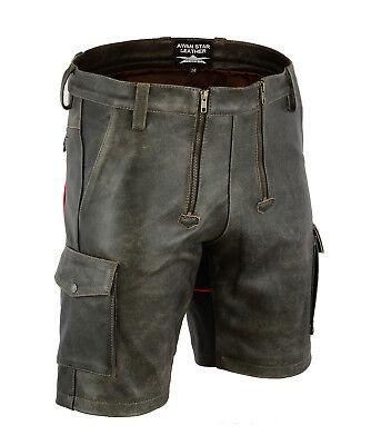 7525 Old Look Antico In Pelle Pantaloncini, Zimmermann Pantaloncini, Cargo Shorts Pantaloncini Carpenter-ann Shorts,cargo Shorts Carpenter Shorts It-it