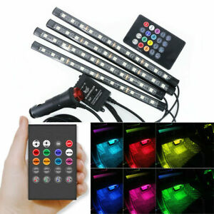 N4IN1-LED-RGB-Ambientebeleuchtung-Innenraumbeleuchtung-Licht-auto-lampen-12V-49