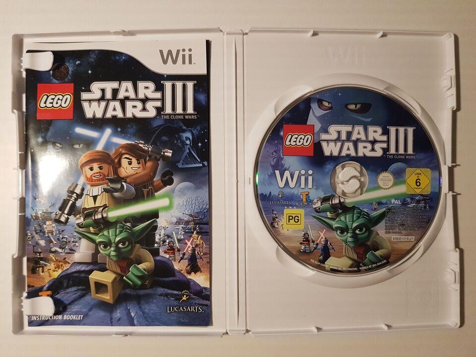 Lego Star Wars III, Nintendo Wii