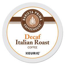 Barista Prima Decaf Coffee K-Cups, Italian Roast, 96 Count